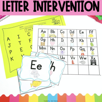 Letters Intervention Pack