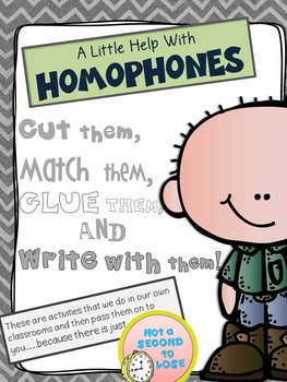 A Little Help With Homophones
