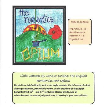 The English Romantics and Opium