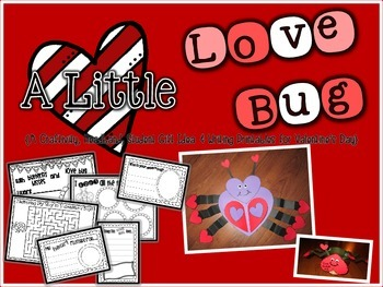 A Little Love Bug {A Valentine's Day Craftivity, Hat, Stud
