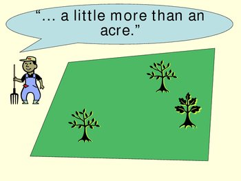 A Little More Than An Acre?