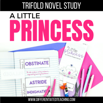 A Little Princess Foldable Novel Study