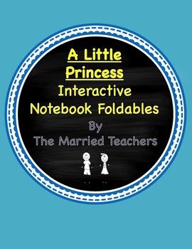 A Little Princess Interactive Literature and Grammar Noteb