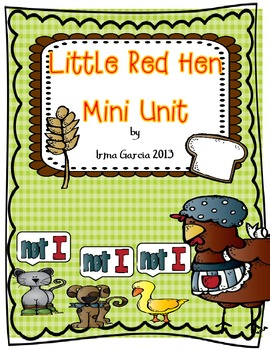 A Little Red Hen Mini Unit