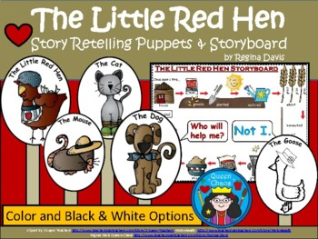 Sizzling image throughout the little red hen story printable