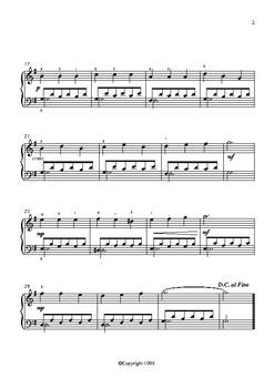 A Little Scherzo - A Level 4 Piano Solo