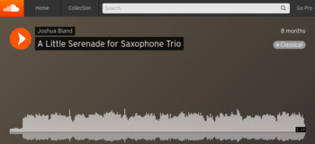 A Little Serenade for Saxophone Trio