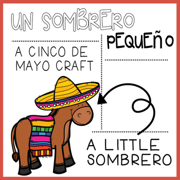 A Little Sombrero: A Cinco De Mayo Craft