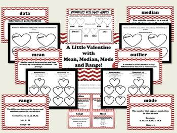 A Little Valentine with Mean, Median and Mode