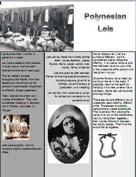 A Little about Leis