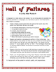 A Living Wax Museum: Hall of Failures