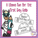 A Llama Fun First Day of School Hats