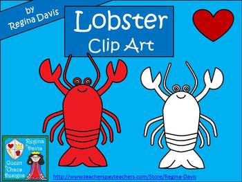 A+ Lobster Commercial Clip Art