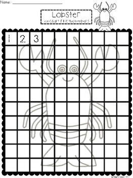 A+ Lobster: Numbers 100 and 120 Chart