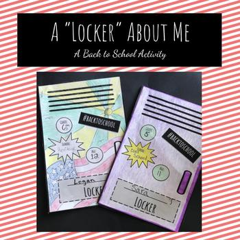 """A """"Locker"""" About Me"""