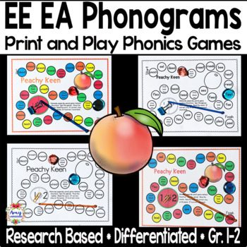 A Long E Phonics Game