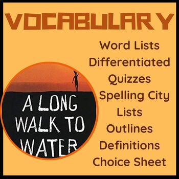 A Long Walk To Water Vocabulary Quizzes