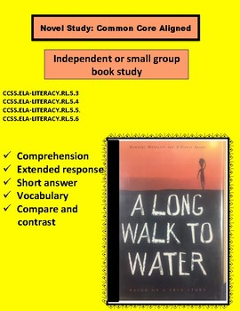 A Long Walk To Water- Novel Study