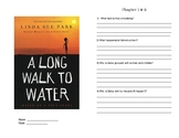 A Long Walk To Water Novel Study Booklet