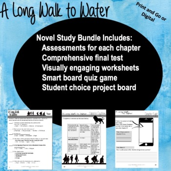 A Long Walk To Water Novel Study Bundle