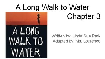 A Long Walk to Water Adapted Book - Chapter 3