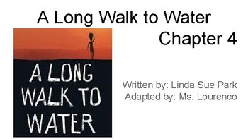 A Long Walk to Water Adapted Book - Chapter 4