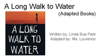 A Long Walk to Water Adapted Book - Chapter 5