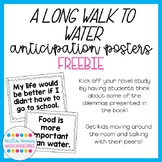 A Long Walk to Water Anticipation Posters FREEBIE
