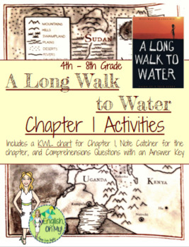 A Long Walk to Water {Chapter 1 Activities}