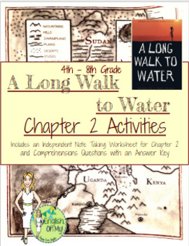 A Long Walk to Water {Chapter 2 Activities}