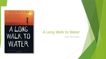 A Long Walk to Water Chapter 2 Vocabulary