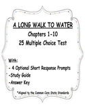 A Long Walk to Water Test Chapters 1-10 NEW Multiple Choice and Short Response