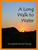 A Long Walk to Water Novel Study Unit