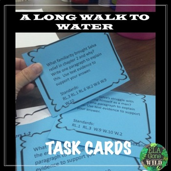 A Long Walk to Water Task Cards