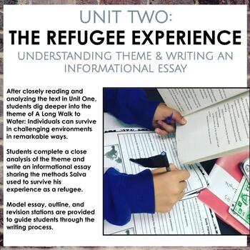 A Long Walk to Water Unit Bundle, Engage NY aligned, Grades 5-8