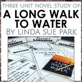 A Long Walk to Water Unit Bundle, Grades 5-8