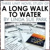 A Long Walk to Water Unit Bundle, Grades 5-8