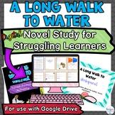 A Long Walk to Water Digital Novel Unit Plan for Struggling Readers