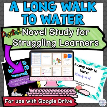 A Long Walk to Water Digital Novel Unit Plan for Struggling Readers