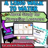 A Long Walk to Water Digital Distance Learning Unit | Stru