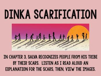 A Long Walk to Water: Dinka Scarification