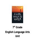 A Long Walk to Water ELA Unit
