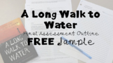 """A Long Walk to Water"" ELA7 Module 1; Unit 1; Essay Outline Sample; Paragraph 2"