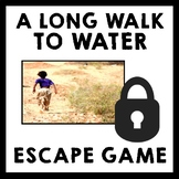 A Long Walk to Water - Escape Room Game {Low Prep!}