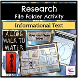 A Long Walk to Water:  File Folder Research Activity