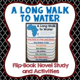 A Long Walk to Water, Flipbook, Activities, Journaling, Maps, History, Science