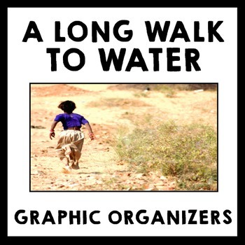 A Long Walk to Water - Graphic Organizer Pack