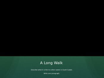 A Long Walk to Water Guided Questions