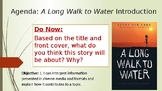 A Long Walk to Water Introduction PowerPoint
