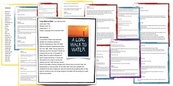 A Long Walk to Water- Lesson Plan Grades 6 -12